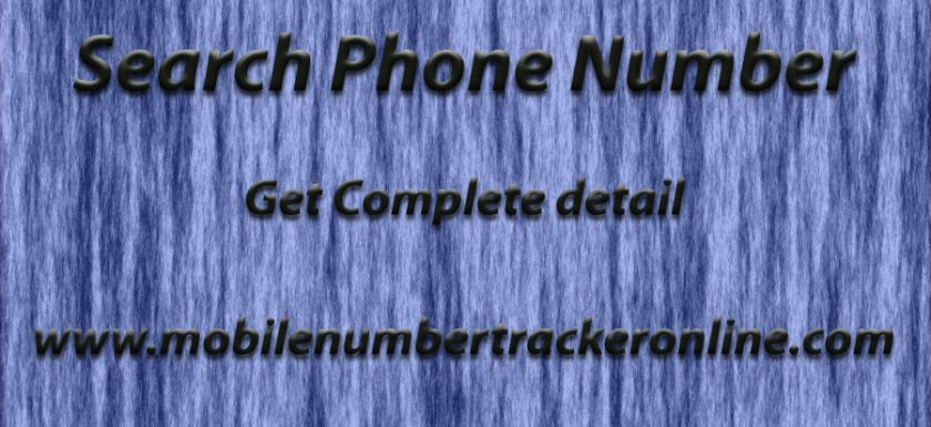 Search Phone Number